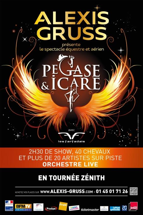 Le cirque alexis gruss rejoue p gase et icare - Carrefour des cascades porte de passy ...