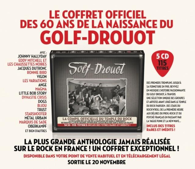 Le Golf-Drouot sort ses archives dans un luxueux coffret anniversaire !