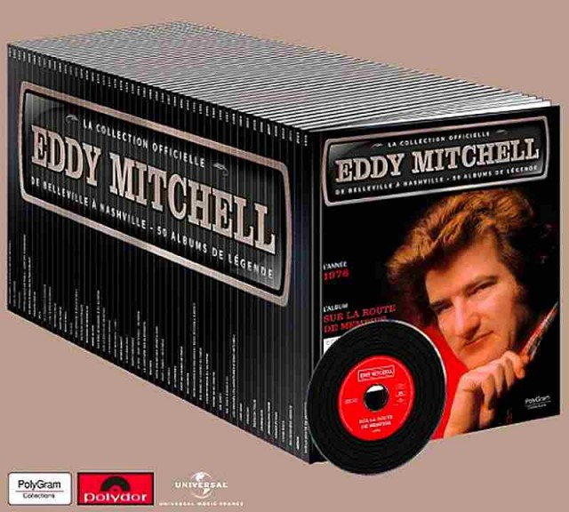 Eddy Mitchell sort sa discographie en collection kiosque !