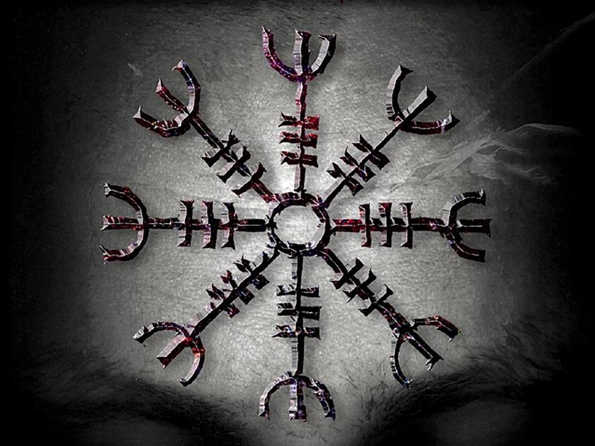 Analyse s mantique du symbole oegishjalmr - Symbole de protection ...