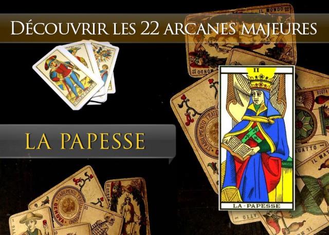Tarot découvrir les arcanes : La Papesse