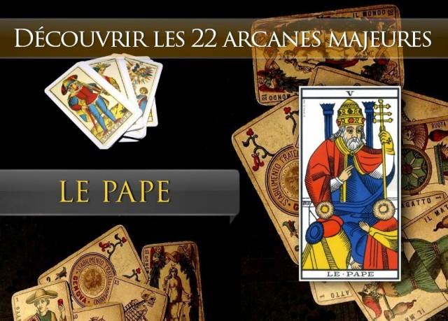 Tarot découvrir les arcanes : Le Pape