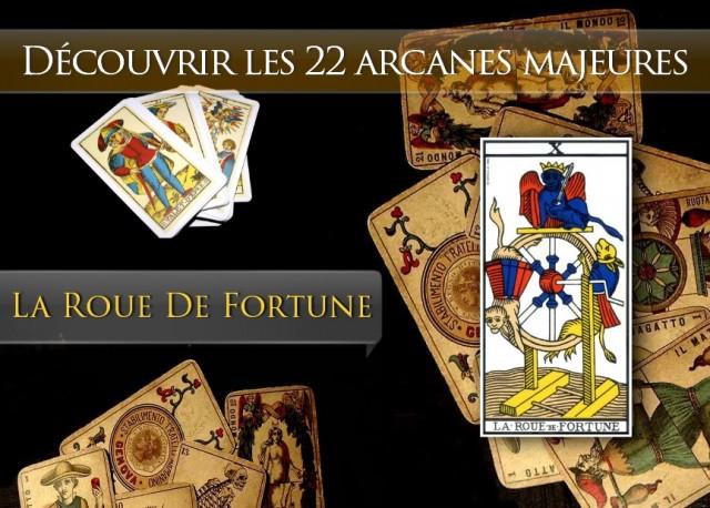 Tarot découvrir les arcanes : La Roue de Fortune