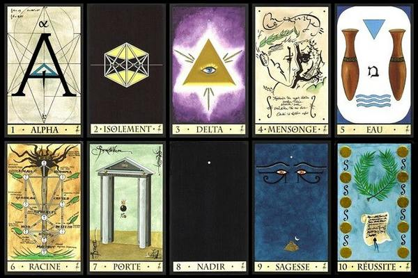 Carte Oracle De La Triade.Interpretation De L Oracle De La Triade