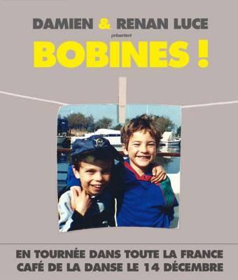 Damien Luce en tournée avec son frère Renan pour Bobines !