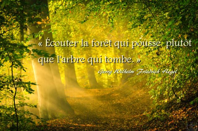 La forêt, Chateaubriand