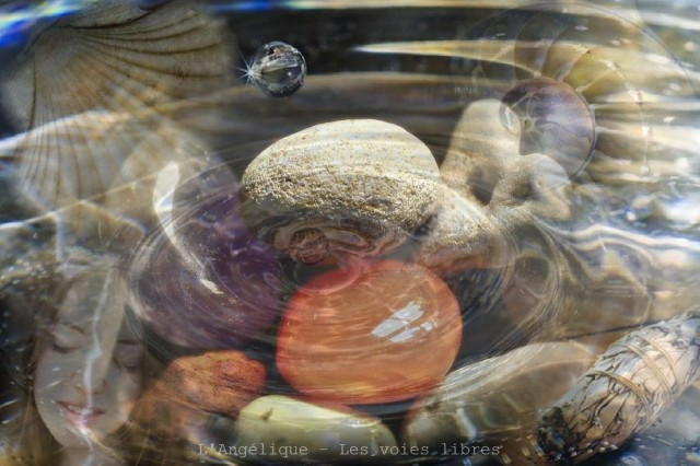 Purification des pierres et des cristaux