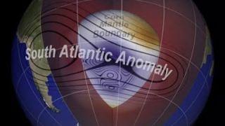 INQUIETANTE l'anomalie du champ magnétique Sud terrestre s'agrandit 21 08 20 17h