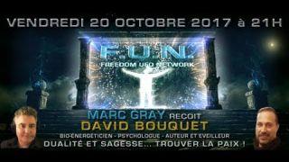 David Bouquet : Dualité et sagesse.. trouver la paix!