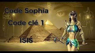 Code Sophia - Code Clé 1- ISIS