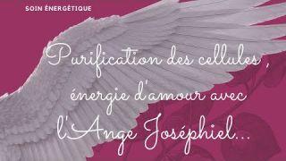 Soin énergétique : Ange Joséphiel: met de l'amour dans nos cellules, purifie le sang...