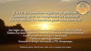 Thérapie des émotions, exercices, comment gérer les émotions,conférence