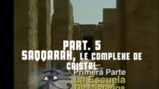 L'oeil d'Horus 05   Saqqarah, Le Complexe de Cristal