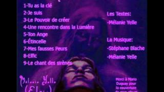 Chanteuse Mélanie Yelle (Tu as la clé)
