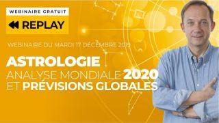 Analyse Astrologique des Enjeux Mondiaux en 2020 et Prévisions par Signe - Webinaire Jean-Yves Espié
