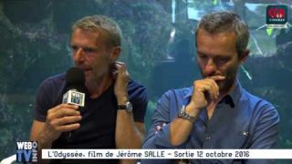 L'Odysée film de Jérôme SALLE avec Lambert WILSON