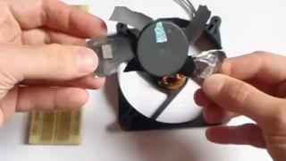 Comment construire pas à pas un micro-générateur d'électricité libre avec une fan d'ordinateur et des aimants permanents
