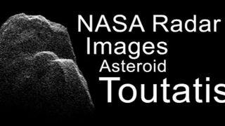 Les images de Toutatis saisies par les radars de la Nasa