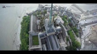 Le Mont St Michel en Drone / France TV Sport / Tour de France 2013.
