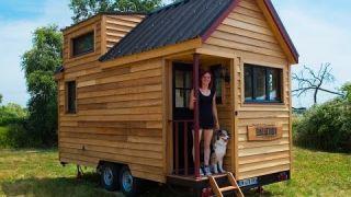 Video de présentation d'une mini-maison amovible